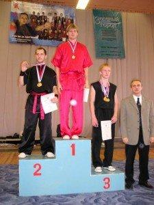 Победители в многоборье: Сергей Суховей (Новосибирск), Евгений Савостьянов (Воронеж), Дмитрий Колганов (Иваново)