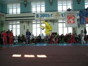 Иван Тронин (Иркутск). Прыжок «тэнкунфэйцзяо»