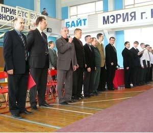 Приветственное слово начальника управления ФКиС НСО Александра Наумовича Солодкина
