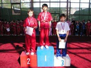 Антон Чан занял первое место в цзяньшу. Второе – Евгений Белоусов (Москва), третье – Антон Гущин (Москва)
