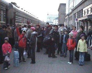 Проводы на новосибирском вокзале