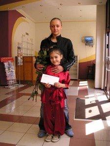 Екатерина Стенищева благословила на победу свою почитательницу Злату Белокобыльскую