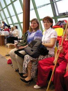 Неоценимую помощь Елене Суховей - президенту федерации - оказывали родители спортсменов