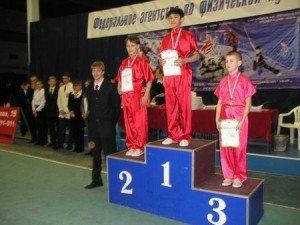 Победители в «копье» среди кадетов: 1-е место – Чан Шон Бао Ань (Новосибирск), 2-е место – Александр Моренков (Новосибирск), 3-е место – Андрей Вологин (Нижневартовск)