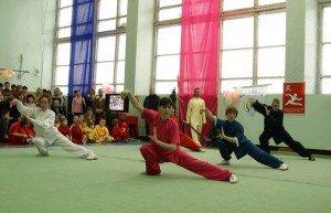 Тайцзицюань в исполнении одной из новосибирских групп