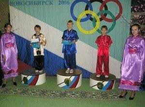 Победители в многоборье среди юношей: 1-ое место – Данил Королев, 2-ое место – Евгений Гоголев, 3-е место Виталий Бабкин
