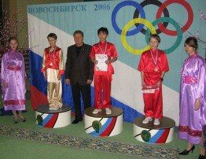 Победители в многоборье среди кадетов: 1-ое место – Чан Шон Бао Ань (Антон Чан), 2-ое место – Александр Моренков , 3-е место - Дмитрий Минин