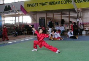 Александр Моренков – победитель в цяншу (копье)