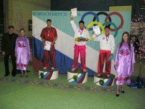 Победители в мужском многоборье: 1-ое место – Михаил Бадмаев, 2-ое место – Анатолий Литвинов, 3-е место - Александр Битюков